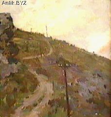 "ANTIK.BYZ: антиквариат, серебро, фарфор, часы | ""Дорога в горах"""
