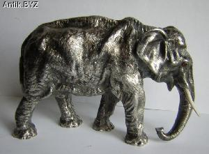 "ANTIK.BYZ: антиквариат, серебро, фарфор, часы | Миниатюра ""Слон"""