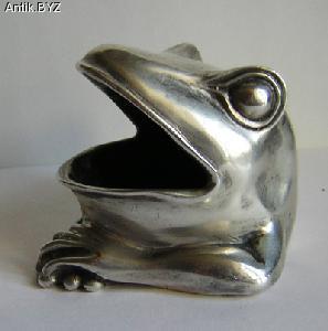 "ANTIK.BYZ: антиквариат, серебро, фарфор, часы | Пепельница ""Лягушка"""