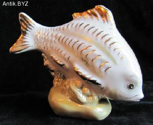 "ANTIK.BYZ: антиквариат, серебро, фарфор, часы | Статуэтка ""Рыба"""