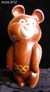 "ANTIK.BYZ: антиквариат, серебро, фарфор, часы   Статуэтка ""Мишка Олимпийский"""